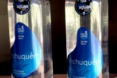 Botella PET 500 cc. En un envase cómodo y reciclable Ud puede disfrutar de Agua de Vertiente Vichuquen.