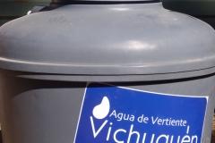 Estanque Domiciliario 750 Lts. Es un estanque de 750 litros de fácil instalación y conexión. Ud podrá contar con Agua de Vertiente Vichuquén en su casa de manera cómoda a un precio muy conveniente. ( disponible solamente en la comuna de Vichuquén)