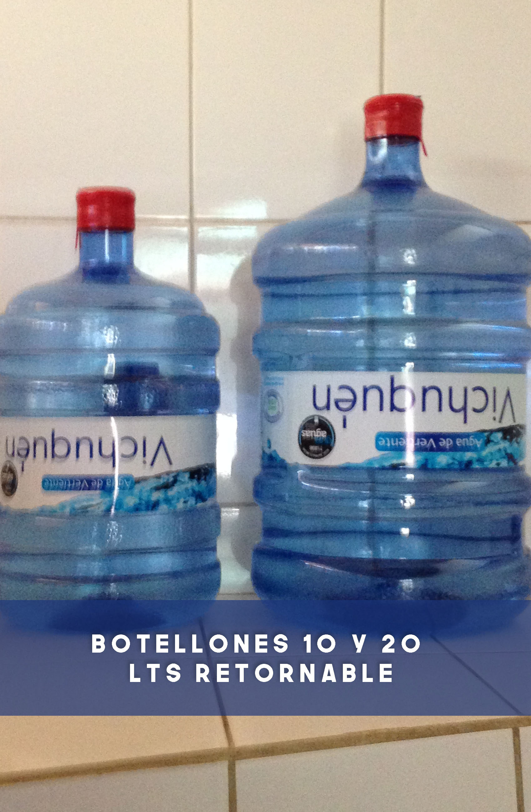 Botellones 10 y 20 Lts. Retornable